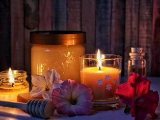 jak zrobić świecę z wosku pszczelego