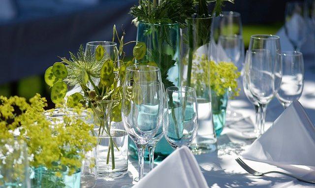 dekoracje stołu na grilla