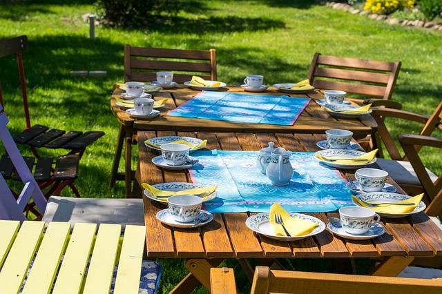 stół na grilla inspiracje